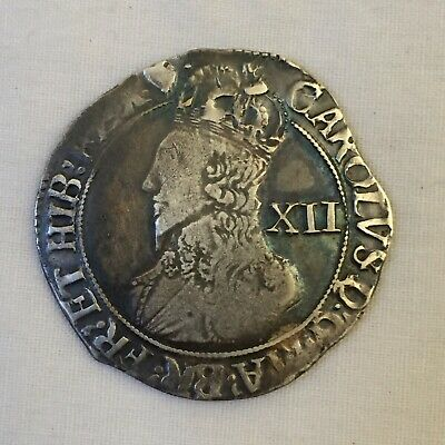 £175 • Buy King Charles 1st Silver Hammered Shilling I Coin