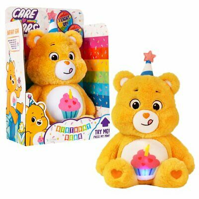 £21.71 • Buy Care Bears BIRTHDAY BEAR 2021 With Lights Sounds Large 14  Birthday Party Gift