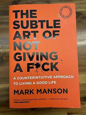 AU1.04 • Buy The Subtle Art Of Not Giving A F**k By Mark Manson, 2016 (As New)