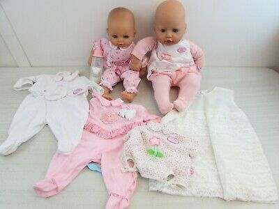 £24.99 • Buy Baby Annabell Doll Duo With Additional Clothes And Baby Bottle             #et#