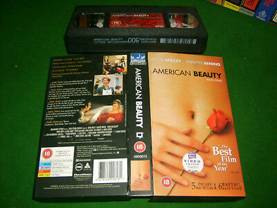 AU9.95 • Buy AMERICAN BEAUTY (1999) - Dreamworks UK VHS Issue - Kevin Spacey & Annette Bening