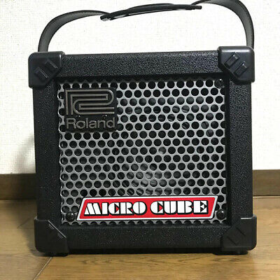 AU239.66 • Buy Roland Micro Cube Guitar Amplifier With AC Adapter + Manual Used