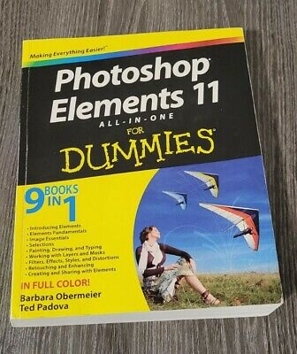 £10.16 • Buy Photoshop Elements 11 All-in-One For Dummies By Padova, Ted 1118408223