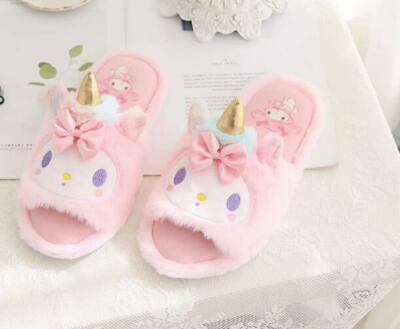 AU22.59 • Buy My Melody Unicorn Open-toed Indoor Shoes Slippers Shoe Birthday Gift