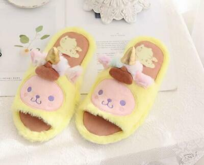 AU22.59 • Buy Pom Pom Purin COS Unicorn Open-toed Indoor Shoes Slippers Shoe Birthday Gift