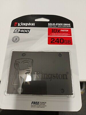 £33.95 • Buy Kingston  240GB SSD A400 Solid State Hard Drive 2.5 Inch SATA 3.0 New