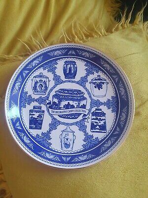 £1.50 • Buy Ringtons The Decorative  Caddy Collection Plate Blue & White 1993 Collectable