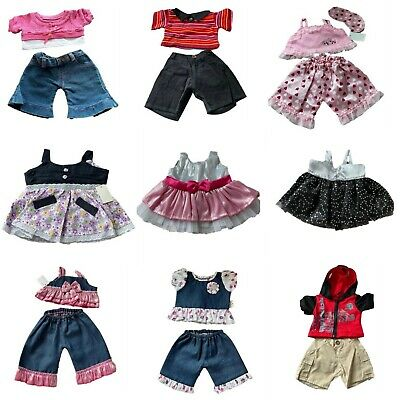£4.99 • Buy Teddy Bear Clothes Fits 15  Build A Bear Trousers PJ's Jeans Top Skirt Dress Hat