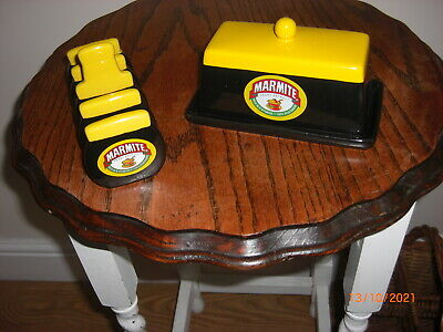 £15 • Buy Marmite Butter Dish And Toast Rack
