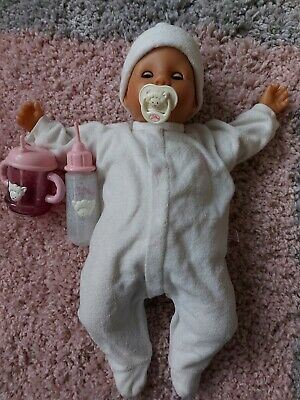 £34.99 • Buy Original Vintage Baby Annabell Doll From 1998, Cries, Laughs, 6 Working Sounds