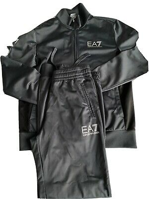 £51 • Buy Mens Black & Grey Emporio Armani Tracksuit EA7 Set. Size S Immaculate Condition
