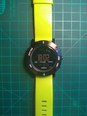 £65 • Buy Suunto Core Lime Crush Altimeter Barometer Compass Watch With Box & Instructions