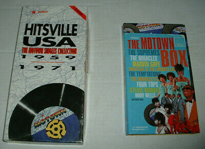 AU13.25 • Buy 2 Motown 4 Cd's Box Sets The Box And Hitsville Usa + Signed Martha Reeves Photo