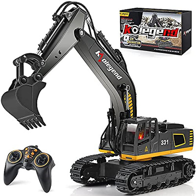 £55.43 • Buy Kolegend 9 Channel Full Functional Electric RC Remote Control Excavator Tractor,