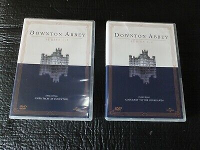 £6.50 • Buy Downtown Abbey Complete Series 1 To 4 - 2 Box Set -15 DVD Discs