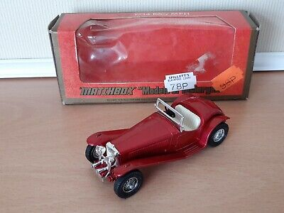 £2.95 • Buy Matchbox Models Of Yesteryear Y3-3 1934 Riley MPH, Lighter Red Body And Chassis
