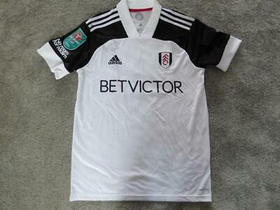 £30 • Buy Fulham FC Signed #18 LEMINA Player Worn Shirt From Carabao Cup Game