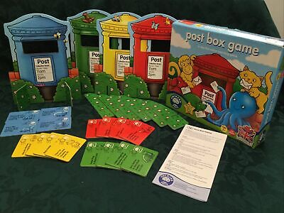 £2.99 • Buy ORCHARD TOYS Post Box Game Age 2 Yrs + Educational 1-4 Players  VGC