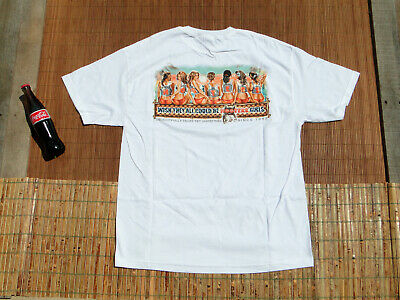 £18.14 • Buy Vintage NOS 1999 Hooters Girls Chicago Illinois T Shirt - UNWORN & MINT In XL
