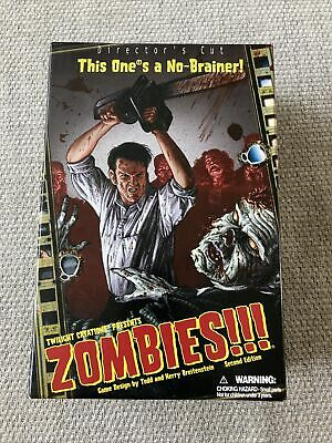 £10.99 • Buy Zombies!!! Director's Cut Second Edition Board Game 100% Complete