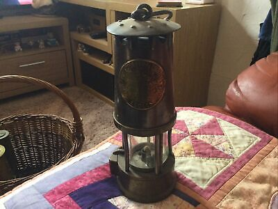 £55 • Buy Vintage Eccles Protector Type SL Steel And Brass Miners Lamp B/120