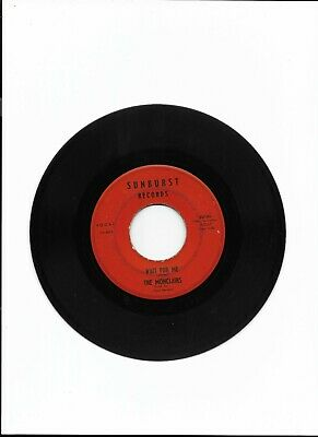 £30 • Buy 7  Classic Northern Soul Single Original 45 / The Monclairs-Wait For Me/Happy Fe