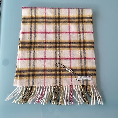 £16.60 • Buy Burberry Scarf, Cashmere