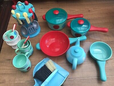 £2.50 • Buy Early Learning Centre Toy Kitchen Toys Bundle Pots/pans/cups Etc