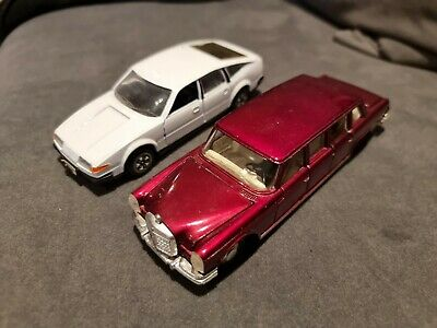 £8.50 • Buy Dinky Toys Diecast Model Car X2 Mercedes Benz 600 128 Rover 3500