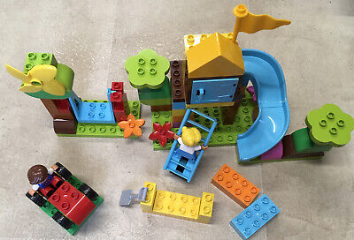 £9.80 • Buy Lego Duplo Set 10864 Playground,swing,tree House 100% Complete Un-boxed Ex Cond.