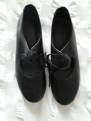 £3 • Buy Girl's Black Tap Dance Shoes - Size 3.  Preowned