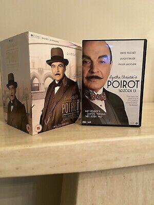 £49.99 • Buy Agatha Christie's Poirot - Complete Collection (Box Set) Series 1-13 DVD