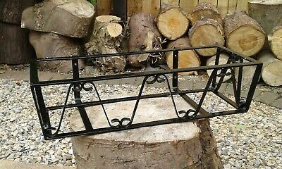 £30 • Buy One Reclaimed Old Metal Wrought Iron Window Box Plant Pot Trough