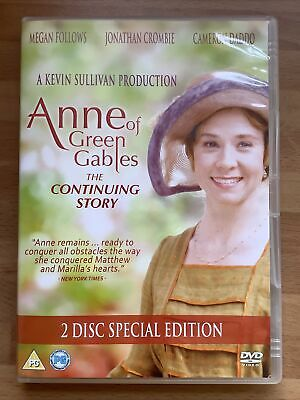 £2.50 • Buy Anne Of Green Gables: The Continuing Story (2 Disc DVD) Megan Follows