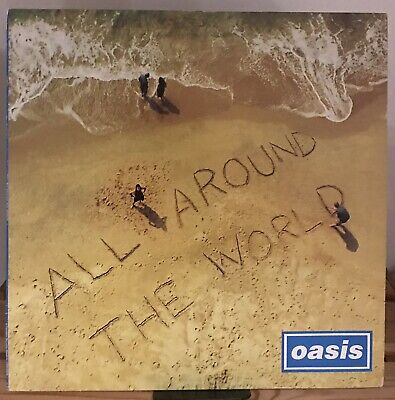 """£99.99 • Buy Oasis - All Around The World 12"""" Vinyl Record Liam Gallagher"""