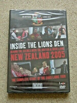 £3.45 • Buy Inside The Lions Den - British & Irish Lions. New Zealand 2005. New And Sealed.