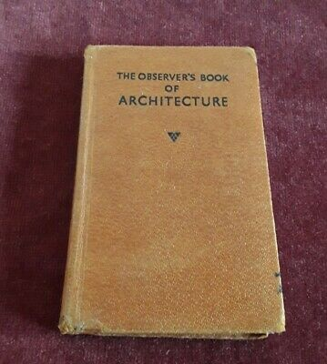 £0.99 • Buy The Observer's Book Of Architecture