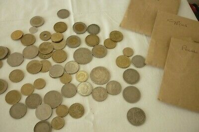 £2.99 • Buy Mixed Bundle Of 57 Mixed Foreign Coins. Inc Spain, Portugal, Cyprus.