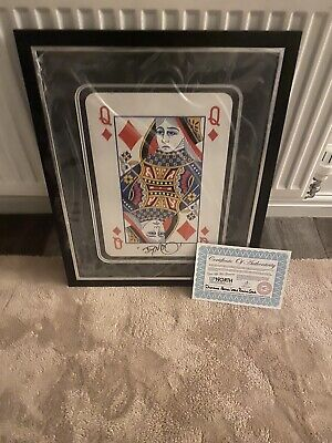 £50 • Buy Signed Dynamo Large Card With C.O.A