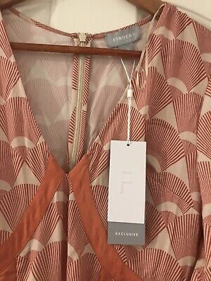 AU40 • Buy FINDERS Keepers The Label Direction Maxi Dress Sienna Fan Size S