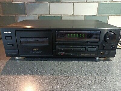 £49.95 • Buy Aiwa AD-F450 Stereo Cassette Tape Deck Player / Recorder Dolby B-C NR  NEW BELTS