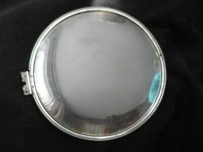 £1 • Buy A Domed Mantlepiece Clock Glass With Metal Rim