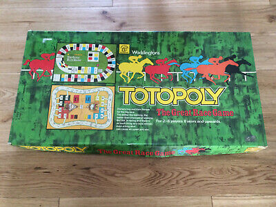 £10 • Buy Totopoly Horse Racing Board Game