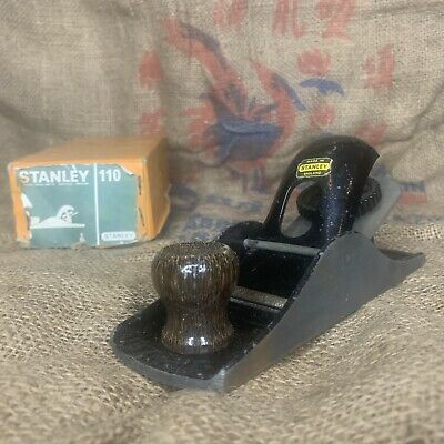 £18 • Buy Vintage Stanley No 110 Block Plane. Boxed. Made In England