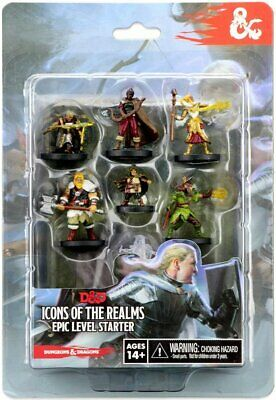 AU30.70 • Buy D&D Icons Of The Realms: Epic Level Starter WizKids BRAND NEW ABUGames
