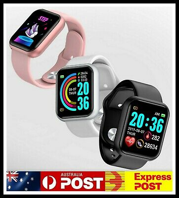 AU16.93 • Buy Smart Watch Heart Rate Blood Pressure Tracker Pedometer For BLUETOOTH Generic