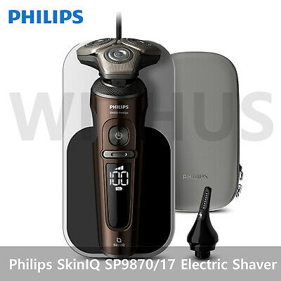AU623.11 • Buy Philips SkinIQ 9000 Prestige Series Electric Shaver With Charging Pad SP9870/17