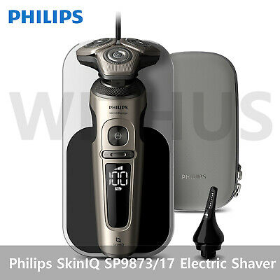 AU617.79 • Buy Philips SkinIQ 9000 Prestige Series Electric Shaver With Charging Pad SP9873/17