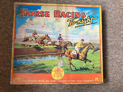£38 • Buy Rare 1940's Horse Racing To-night Game. Vintage Game From Pepys Series