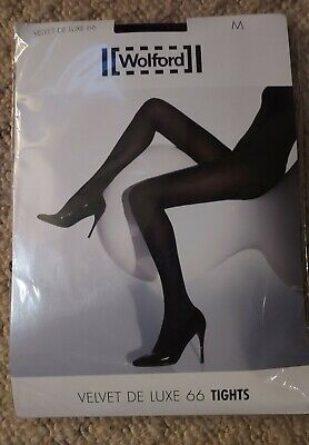 £19.99 • Buy Wolford Velvet De Luxe 66 Tights Wineberry - Medium NEW AND SEALED
